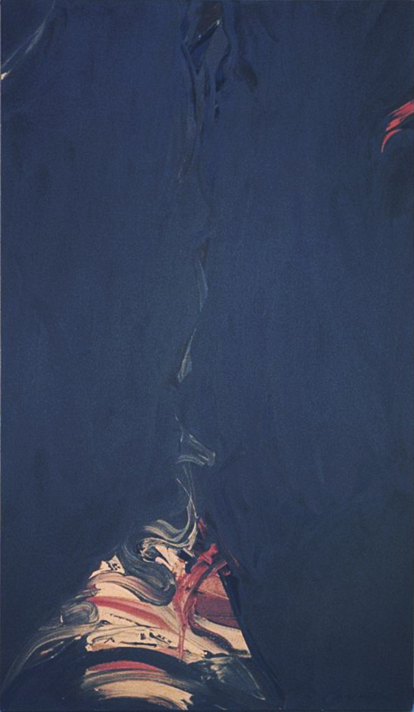 Incense , 1971 acrylic on canvas 60 x 36 inches; 152.4 x 91.4 centimeters