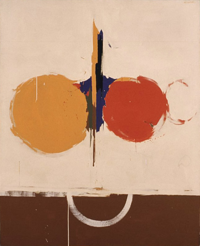 5-5 , 1962 acrylic on canvas 48 x 60 inches; 121.9 x 152.4 centimeters