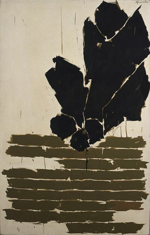 Dawn , 1961 oil on canvas 38 x 60 inches; 96.5 x 152.4 centimeters