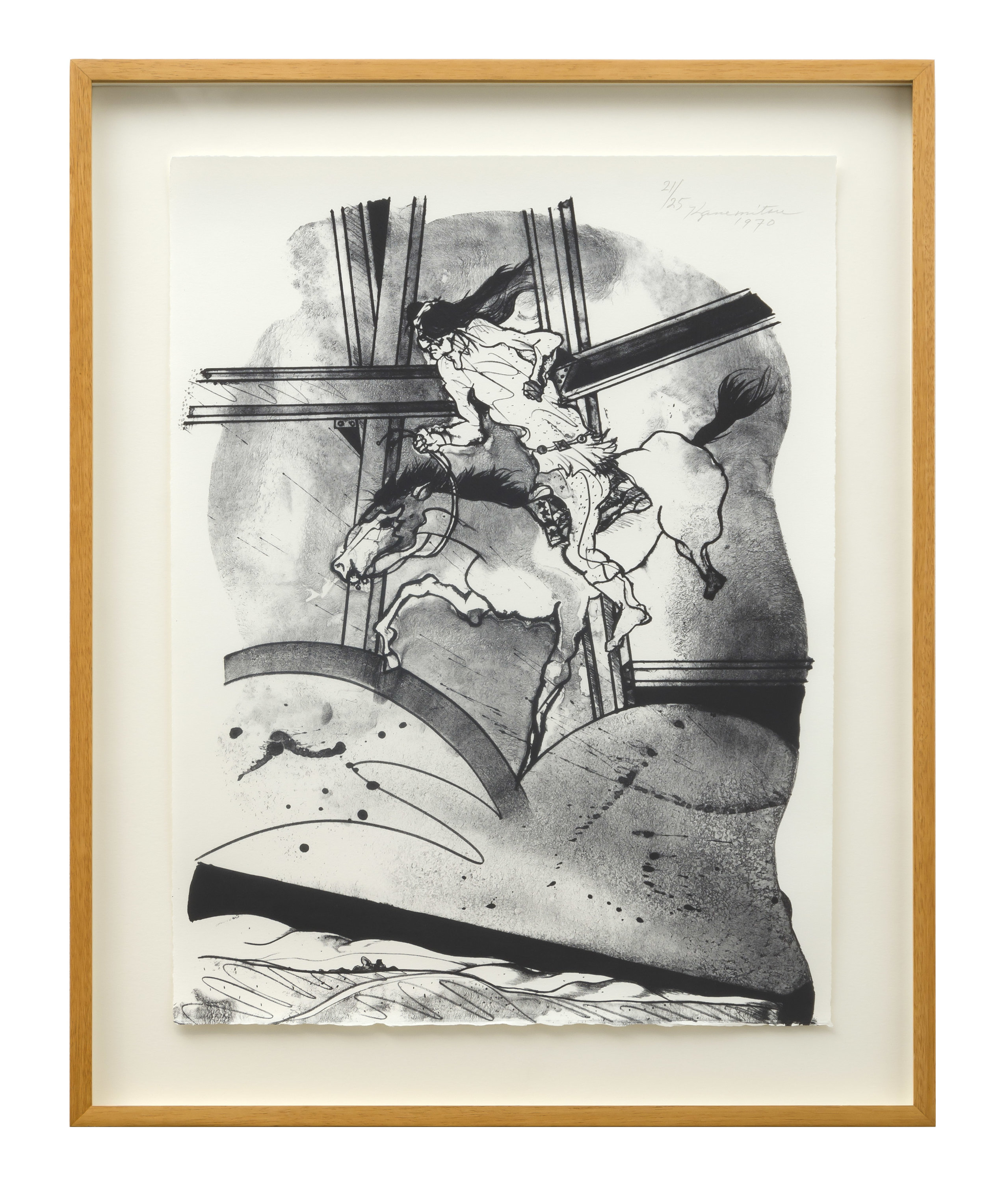Metamorphosis L.A. I , 1970 lithograph 20 x 15 inches; 50.8 x 38.1 centimeters
