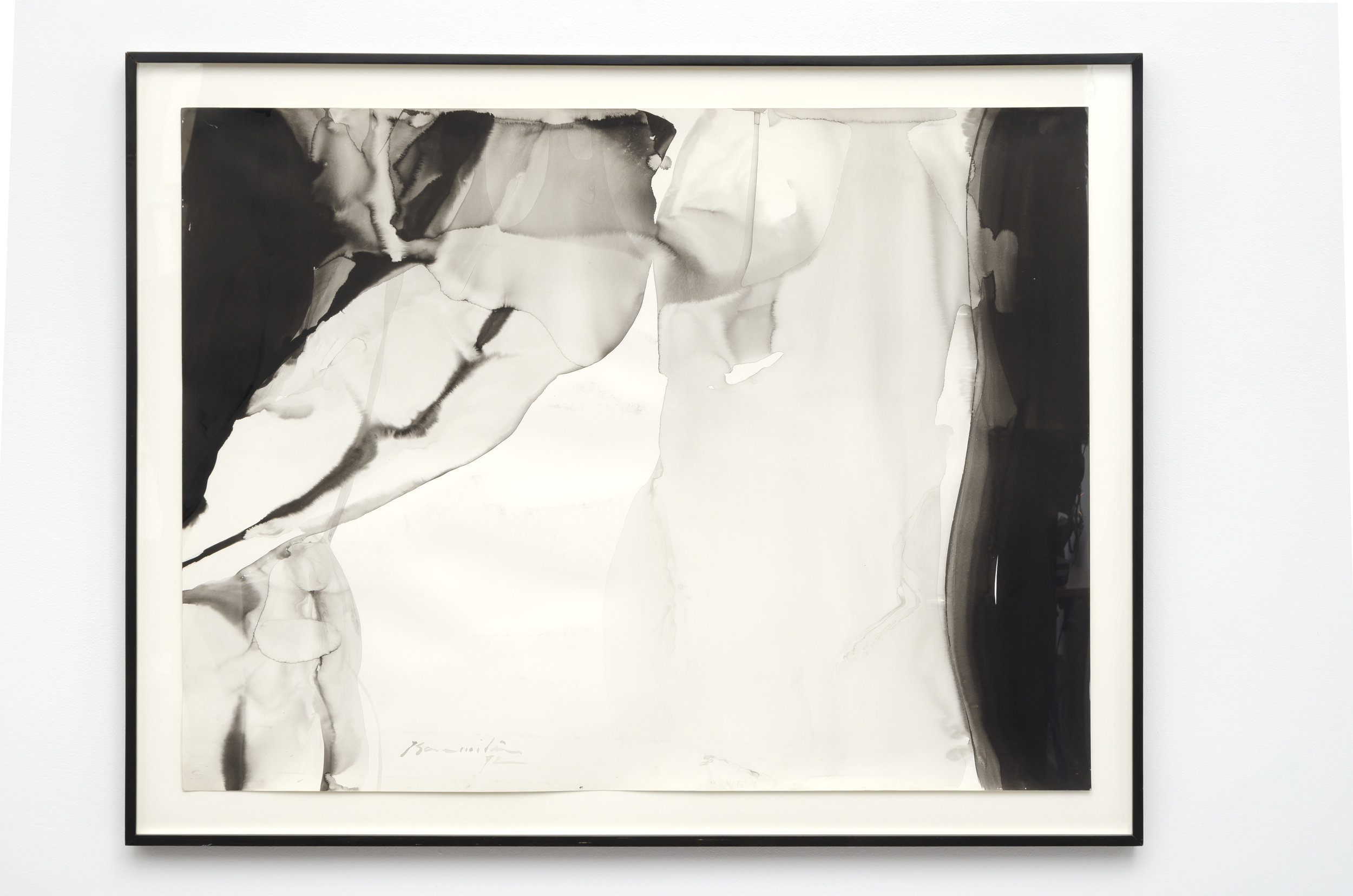 Colossal Cave #4 , 1972 ink on paper 35 x 45 inches; 88.9 x 114.3 centimeters