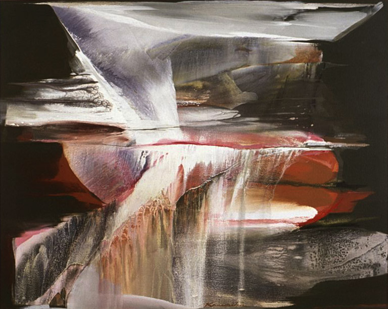 After Storm #3 , 1986 acrylic on canvas 48 x 60 inches; 121.9 x 152.4 centimeters