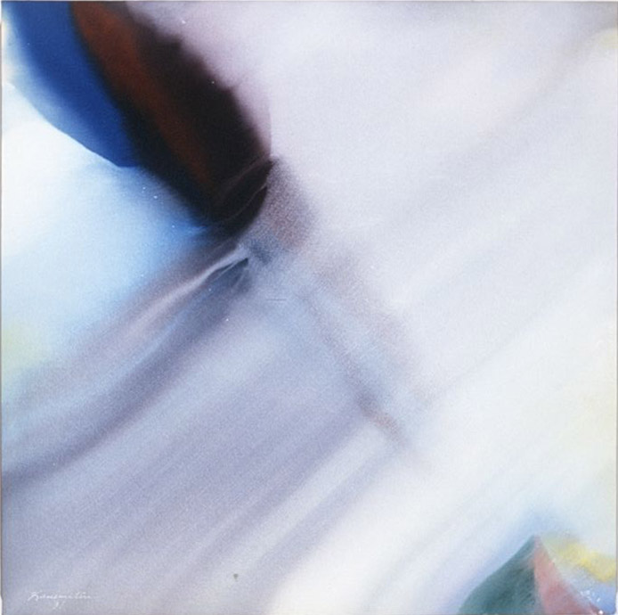 Pacific Series- Morning Mist , 1981 acrylic on canvas 48 x 48 inches; 121.9 x 121.9 centimeters
