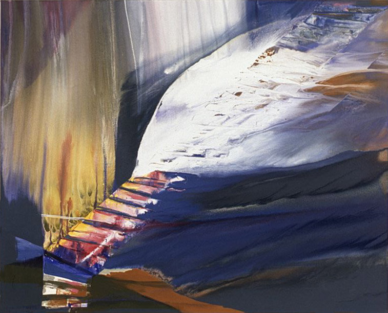 After Storm , 1986 acrylic on canvas 48 x 60 inches; 121.9 x 152.4 centimeters