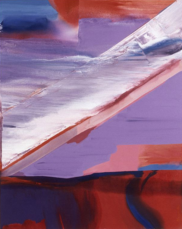 April Storm #1 , 1985 acrylic on canvas 50 1/4 x 42 inches; 127.6 x 106.7 centimeters