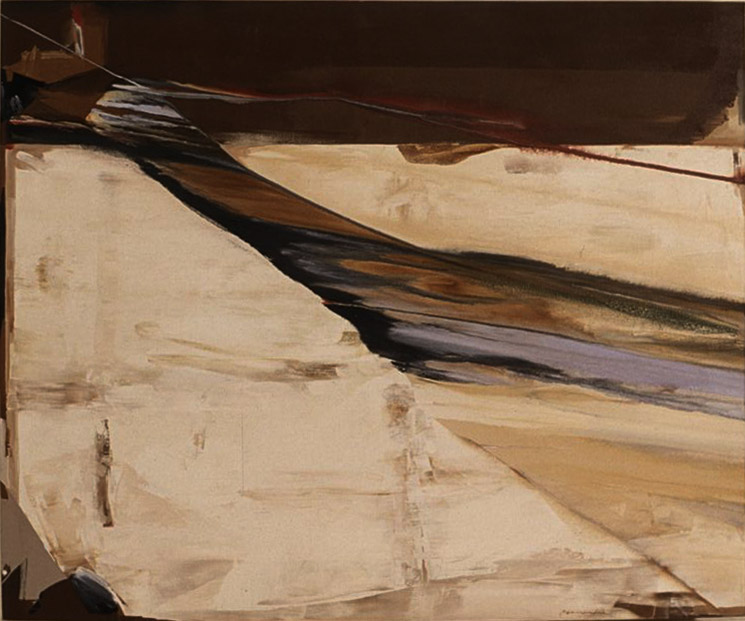 Desert Wind , 1985 acrylic on canvas 60 x 72 inches; 152.4 x 182.9 centimeters