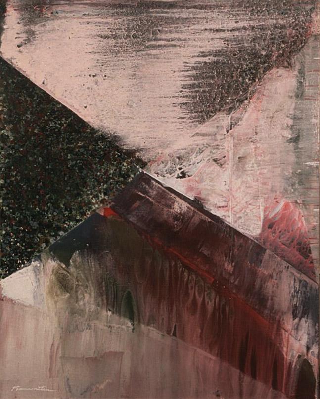 June Rain , 1987 acrylic on canvas 50 x 40 inches; 127 x 101.6 centimeters