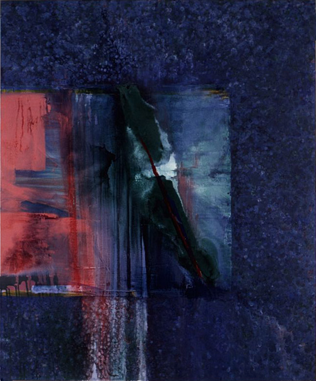 Pacific Series #41 (Triptych) , 1987-88 acrylic on canvas 72 x 60 inches; 182.8 x 152.4 centimeters