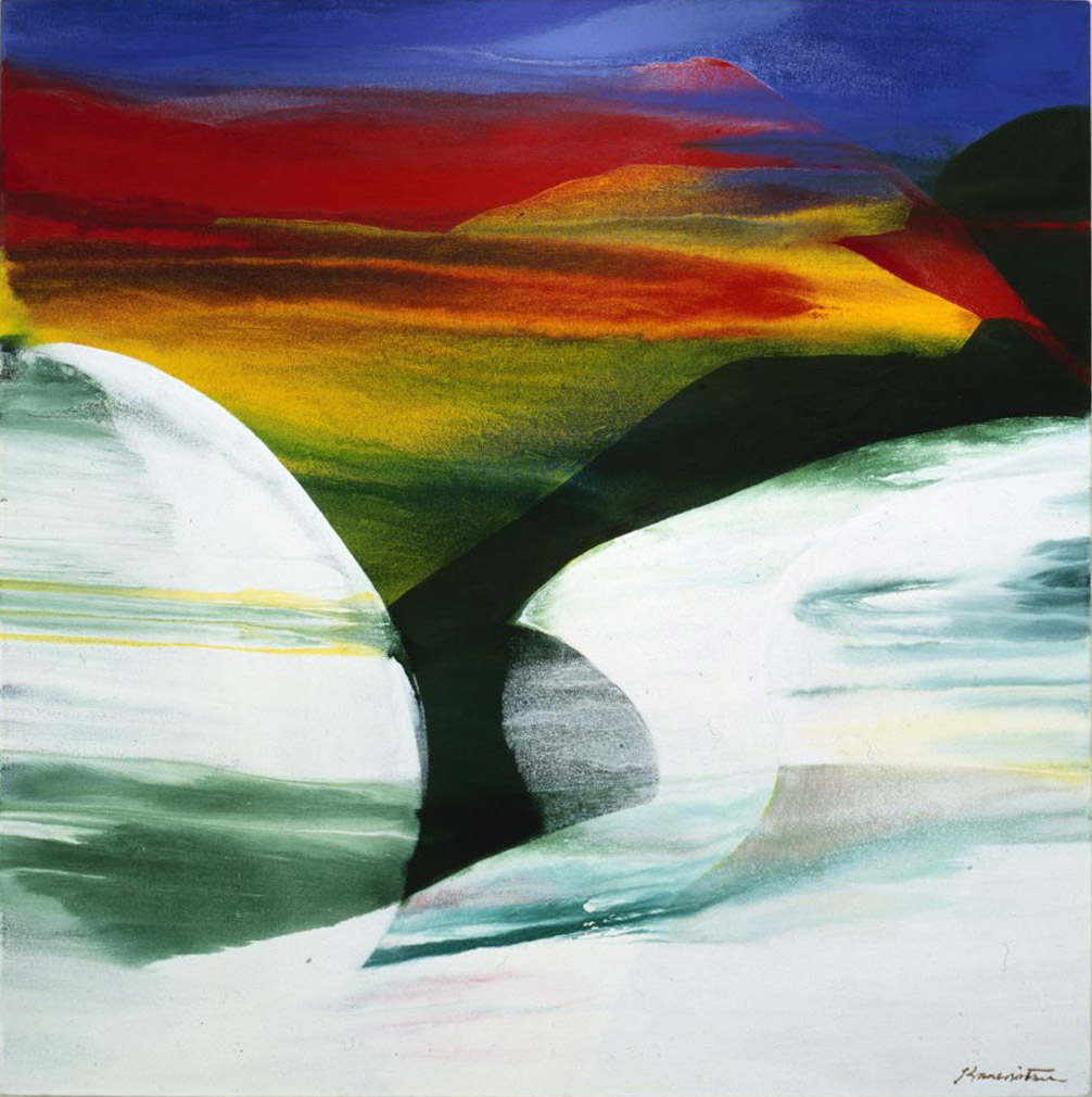Spring Morning , 1988 acrylic on canvas