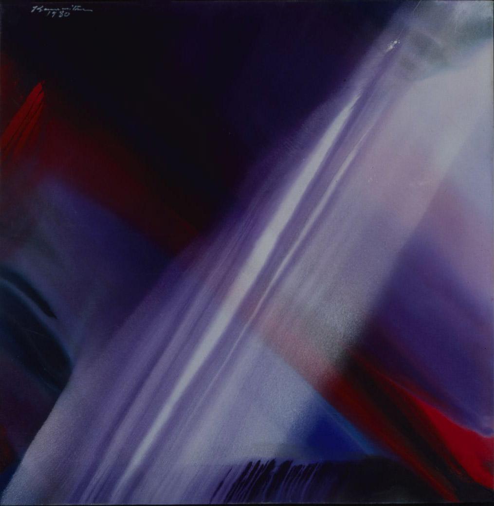 Untitled  1980 acrylic on canvas
