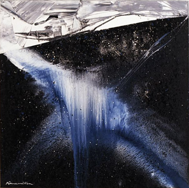 Nightfall #7 , 1990 acrylic on canvas 60 x 72 inches; 152.4 x 182.8 centimeters