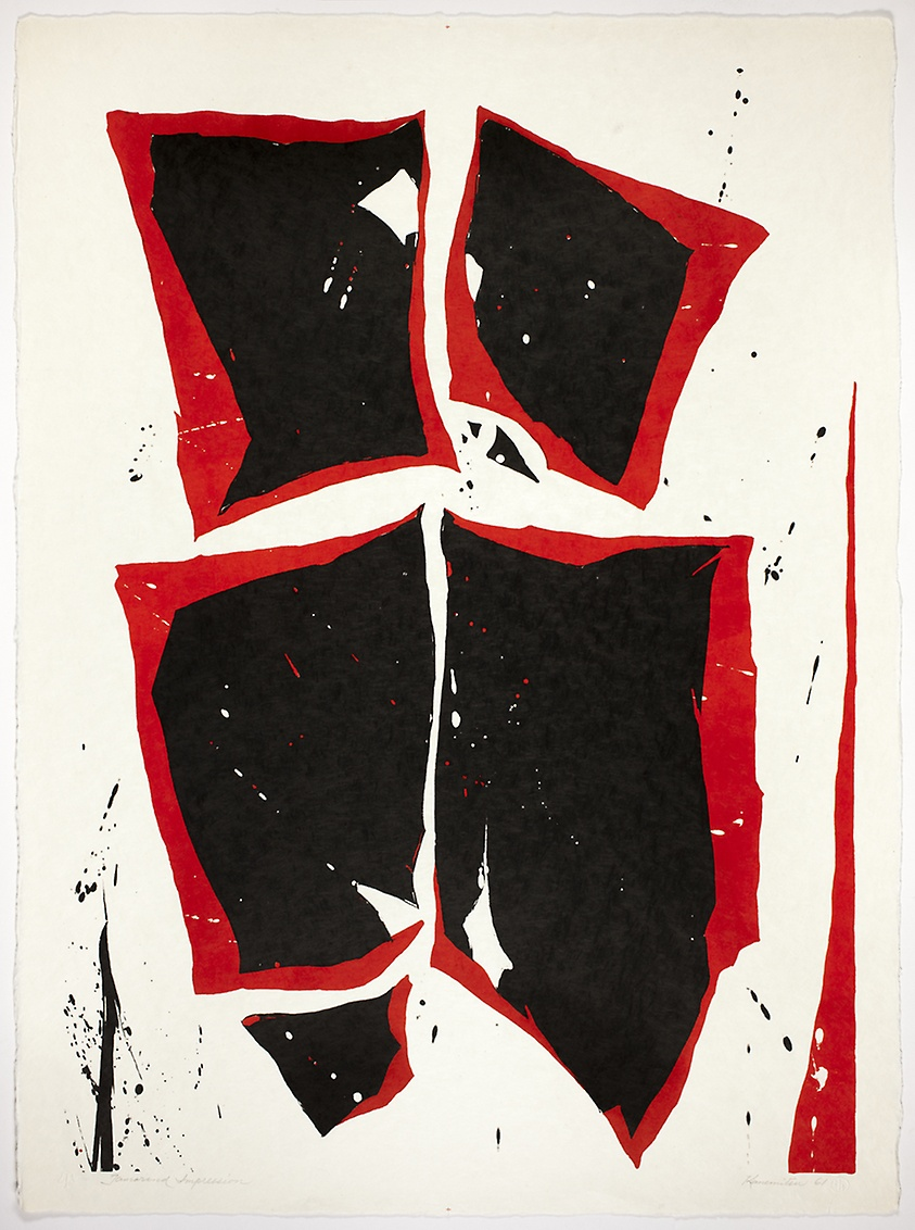 Color Formation II , 1961 lithograph 30 x 22 inches; 76.2 x 56.5 centimeters  Art Institute of Chicago