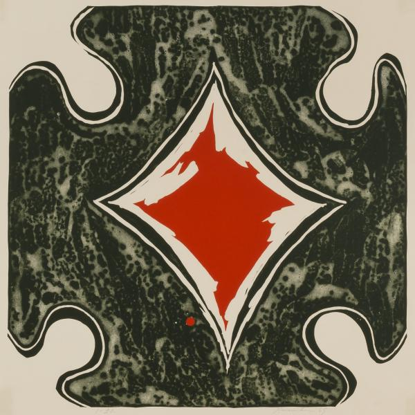 Tamarind #7 , 1965 lithograph 22 1/8 x 22 3/8 inches; 56.3 x 56.8 centimeters  Smithsonian American Art Museum