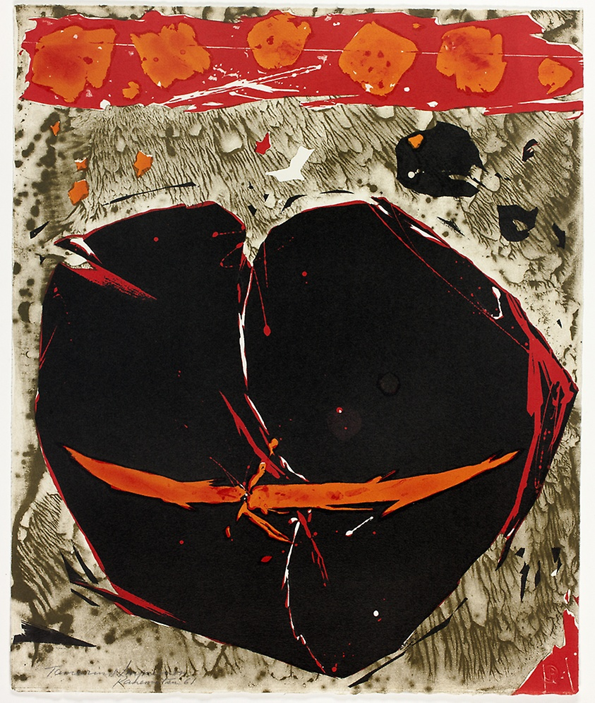 Oxnard Madame , 1961   lithograph 18 x 15 inches; 46 x 38 centimeters  Art Institute of Chicago