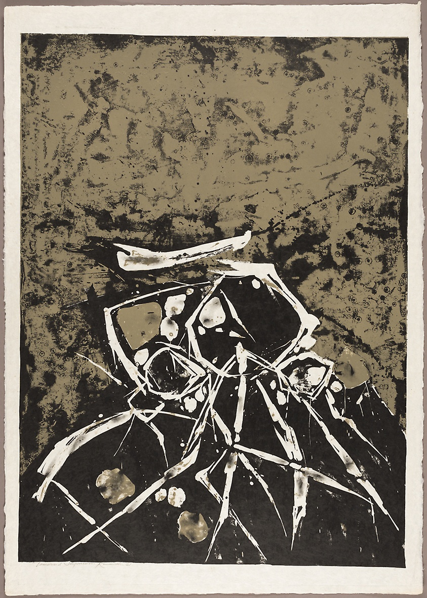 Lovers , 1961 lithograph 29 x 41 inches; 74.4 x 104.8 centimeters  Art Institute of Chicago