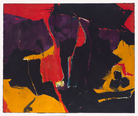 Wes Hardin , 1958 oil on canvas 50 x 60 inches; 127 x 152.4 centimeters  LACMA