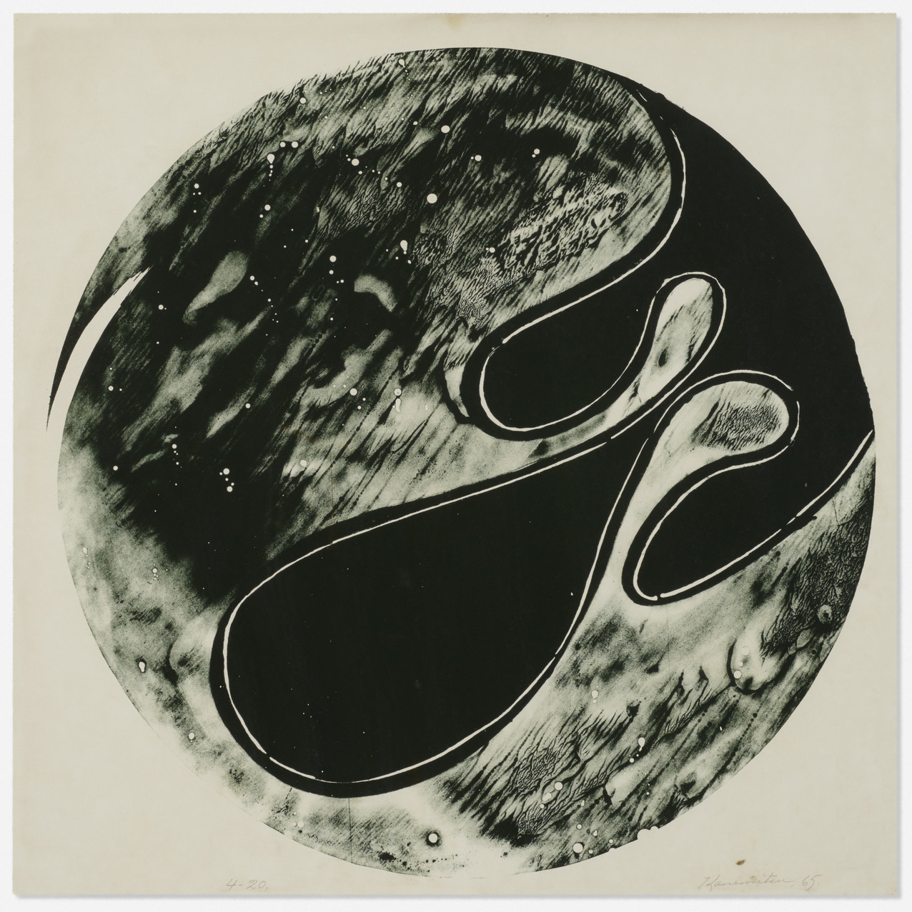 Untitled (Tamarind) , 1965 lithograph 22 x 22 inches; 52 x 52 centimeters