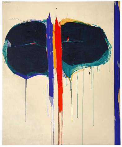 Untitled , c. 1960s acrylic on canvas 59.8 x 50 inches; 152 x 127 centimeters