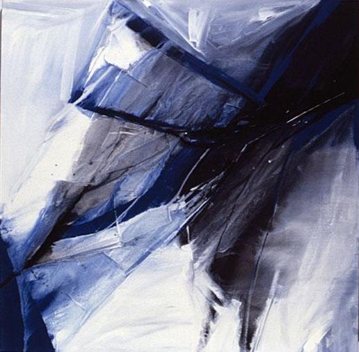 Untitled , c. 1987 acrylic on canvas