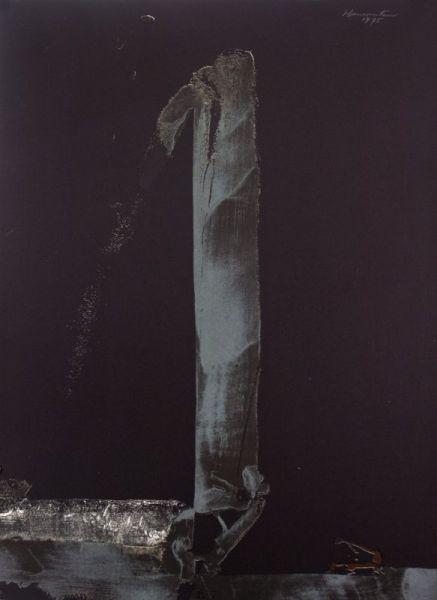 Za Zen (The Meditation) , 1975 lithograph 30 x 22 inches; 76.9 x 56.5 centimeters