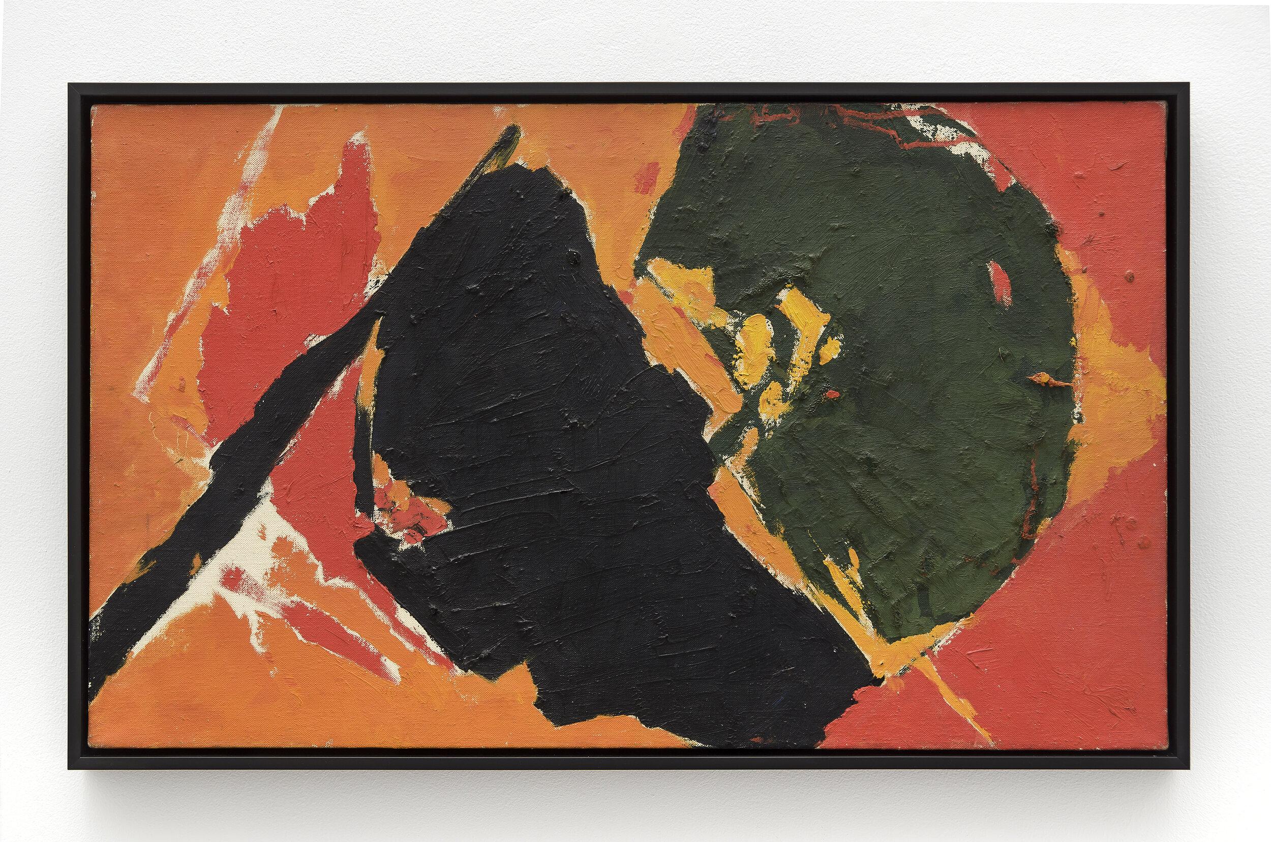 Broken Yo-Yo , c. 1958 oil on canvas 18 x 30 inches; 45.7 x 76.2 centimeters