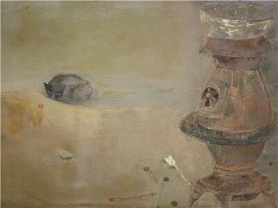 Untitled , c. 1953 oil on canvas 24 ¼ x 34 inches; 61.6 x 86.4 centimeters