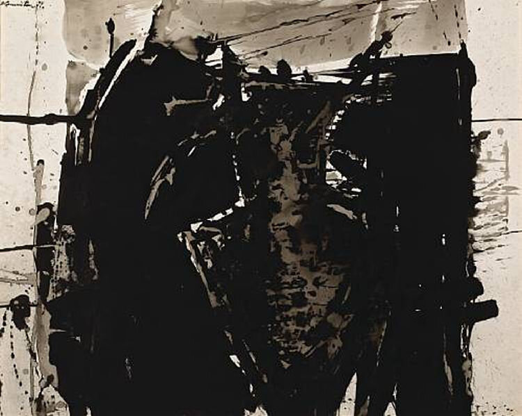 The Hunter , 1959 ink on paper 23.00 x 29.00 inches; 58.42 x 73.66 centimeters