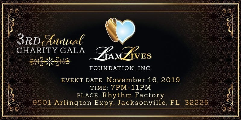 3rd Annual Charity Gala! Get your tickets now!