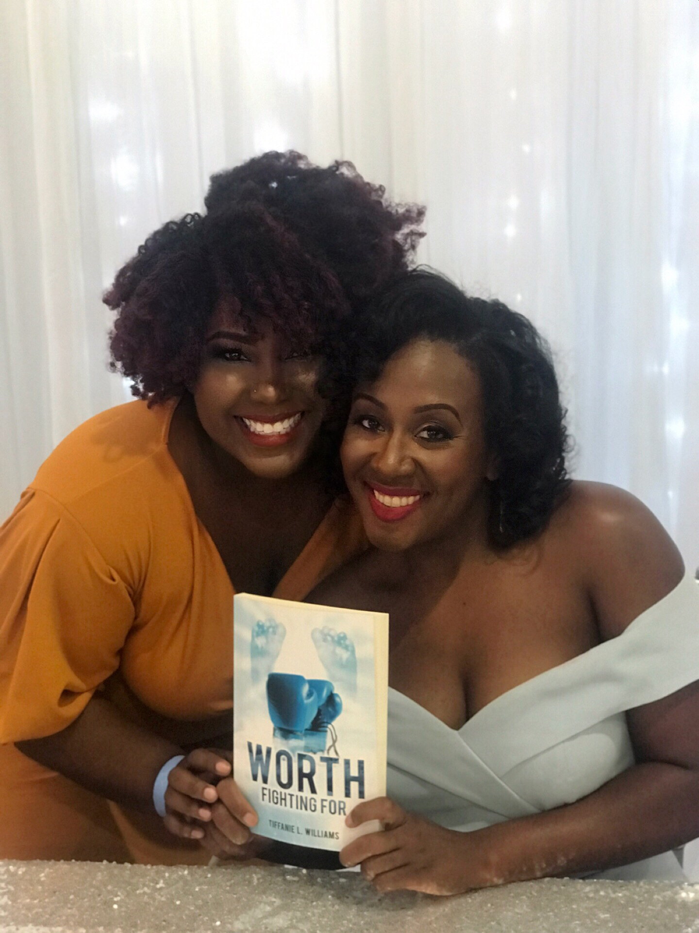 Tiffanie  and I at her book launch!