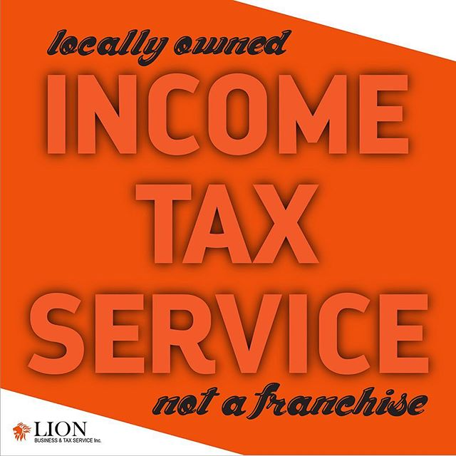 April 15th!!!! One month away your income taxes are due! Don't go to one of those other franchises, come to LION business and tax service. We are veteran and locally owned with seasoned professionals focused on our customers best interests!! Come to LION for a happy and easy income tax service 🦁 #incometax #incometaxseason #lionbts