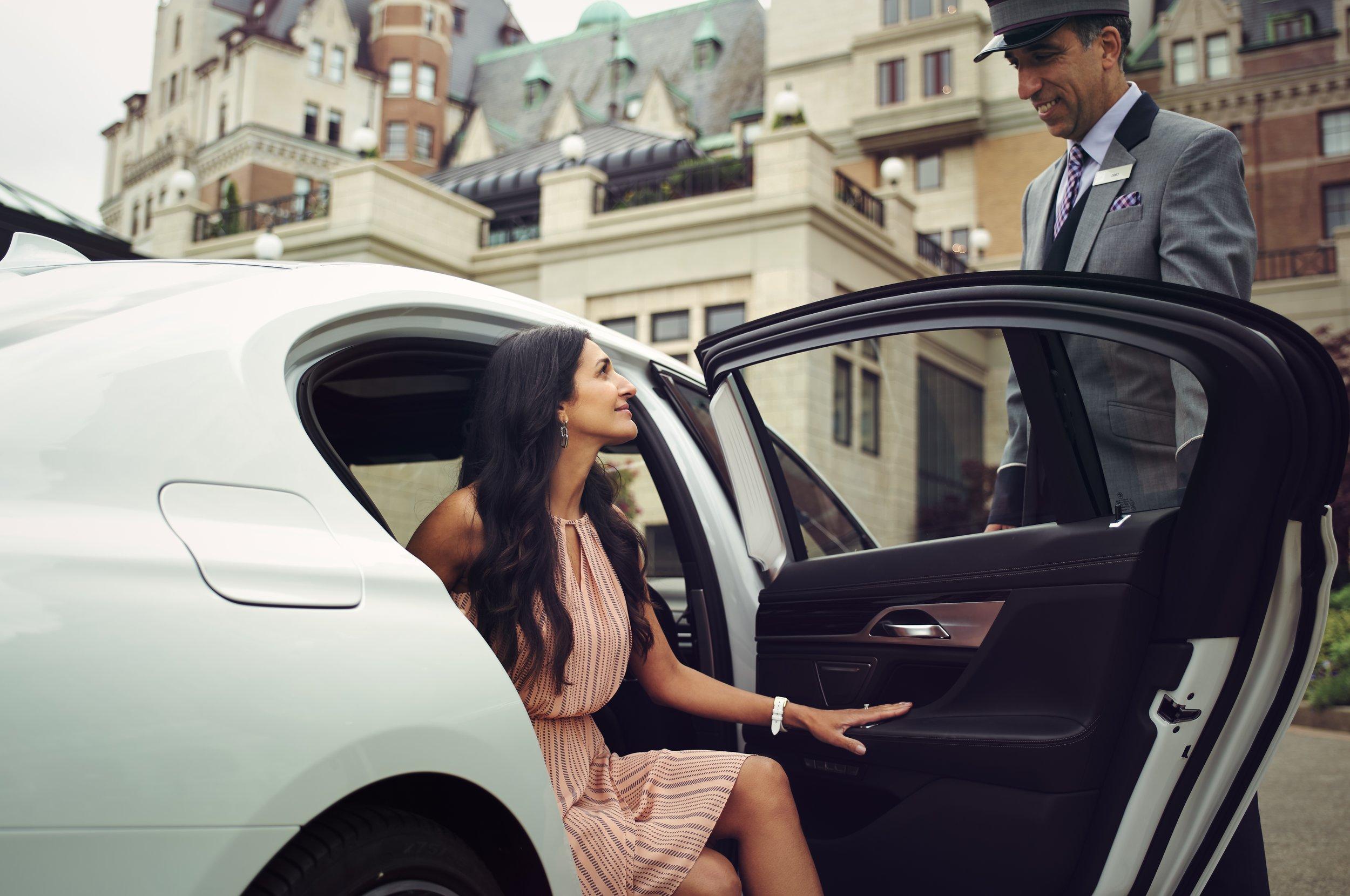 BMW & The Empress -