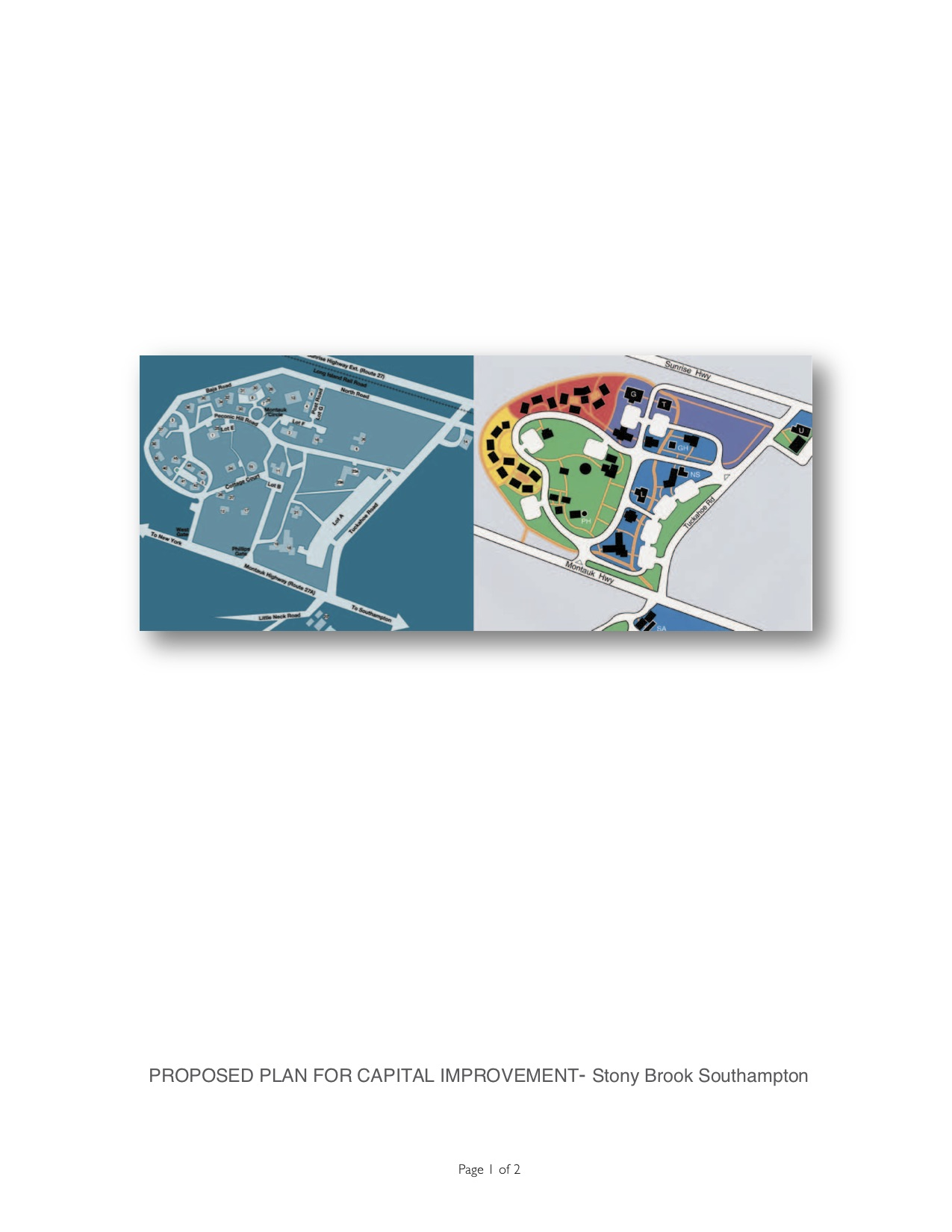 Unsolicited proposal: New master Site Plan for Southampton College / Stony Brook Southampton