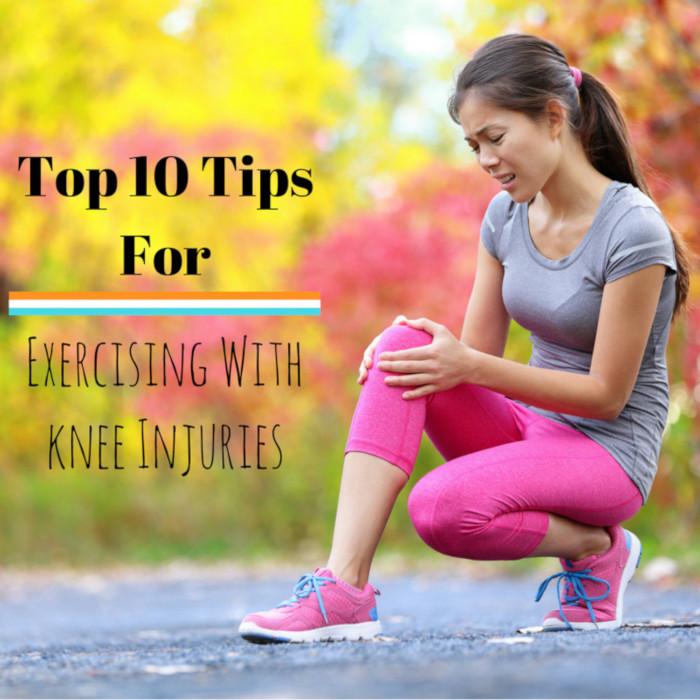 Top 10 Tips for Exercising With a Knee Injury