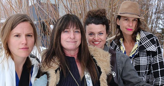 """Come check out the Eco Fair and all of the clear water and clean air options!!!! Ride your bike! Bring your own drink mug! Don't miss """"Knock On"""" the all original band from Jackson Hole! These 4 women are all 'pro-Earth' mavens and want to share their original music with you to celebrate eco-friendly choices. Featuring hard hitting ballad """"Mr. Jones"""" and whimsical political satire """"Beastly and Boorish"""" by bassist and siren Molly Moon Thorn."""