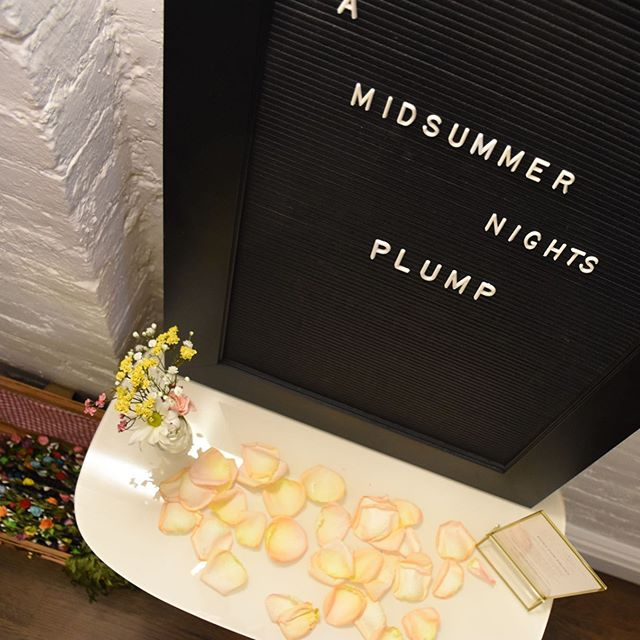 The Plump team, along with some of our friends, family and clients, celebrated the opening of the Uptown store with a Midsummer soirée in our new backyard. 🌸 Swipe to see some memories of the evening; we're looking forward to many more gatherings to come! ✨ #getplump #amidsummernightsplump. . .  Photography: @mahradsm Event design: @catiecase Music: @manneeni  Artwork: @agnizotisnyc Best team ever: @getplump