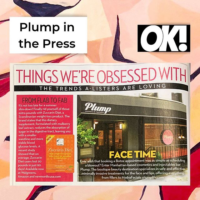@okmagazine is obsessed with us and we're just fine with that. 💕 #getplump