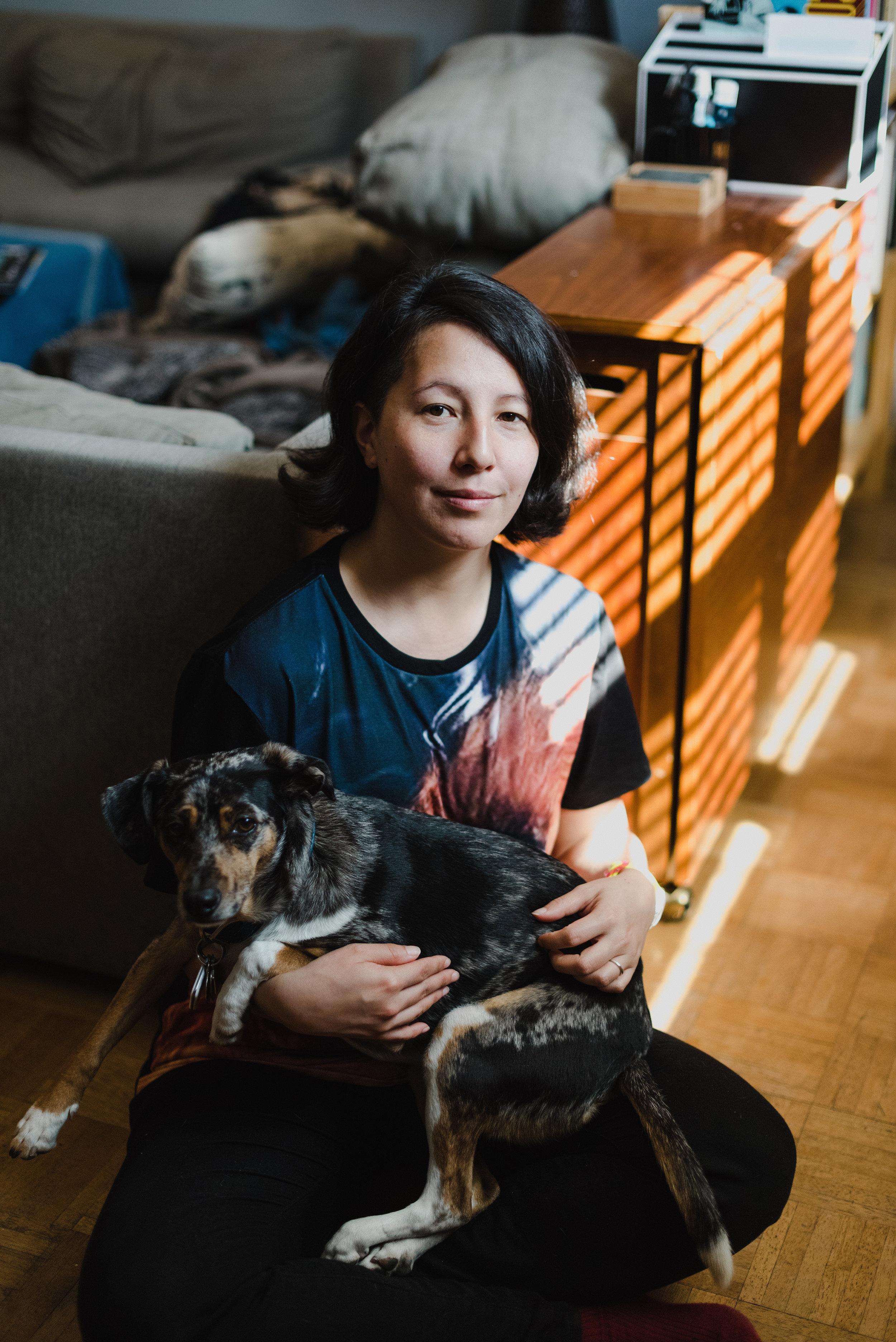 photo:  Hannah Yoon  | pup: Spatula