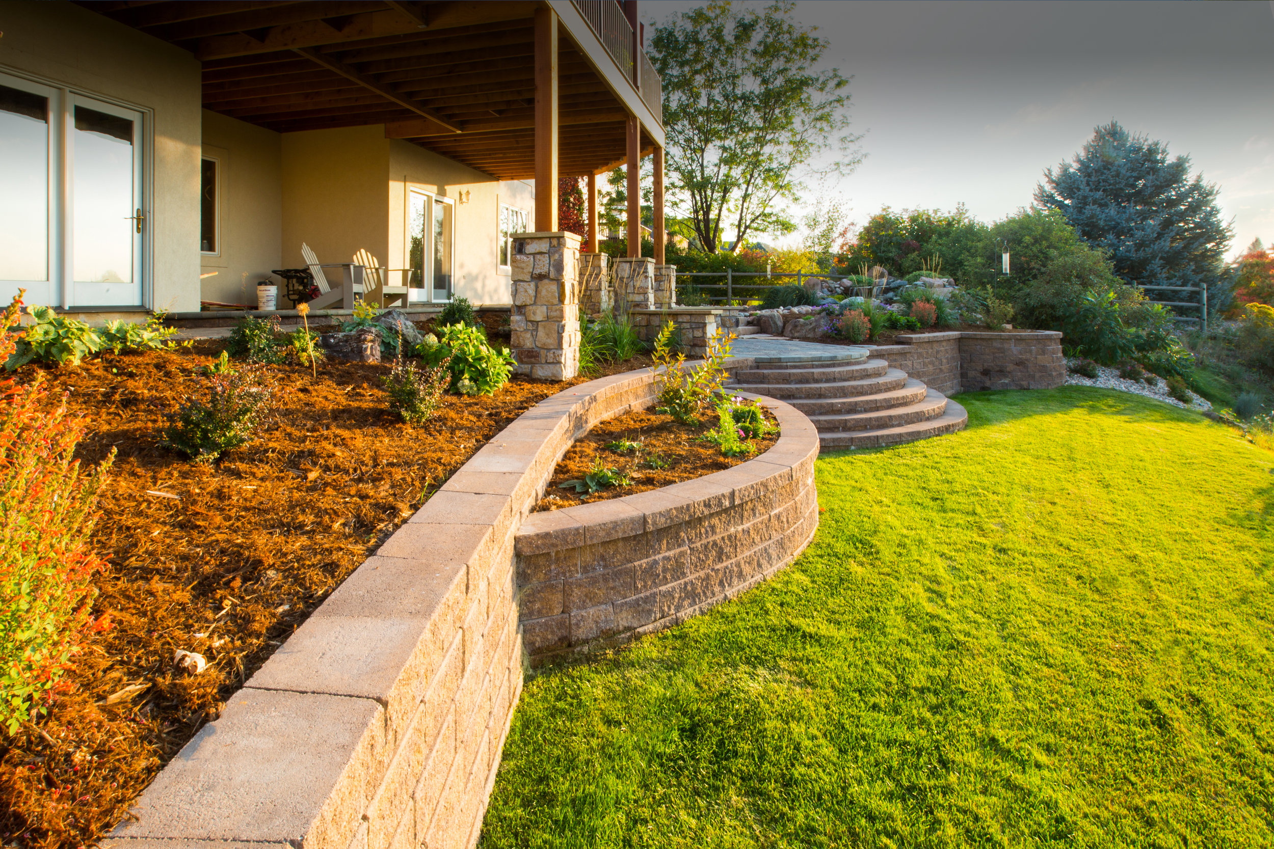 Zak George Landscaping - Colorado - Residential Landscape