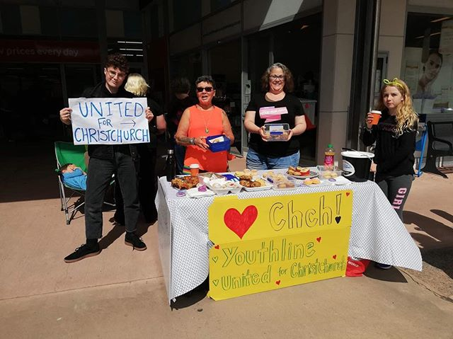 As a result of Pride being cancelled, OuterSpaces teamed up with Mums in the City to raise money for Christchurch victims' families. Our total was almost $2000. It's not the answer to the problem of racism in this country by any means - but the generosity of many today was heartwarming.