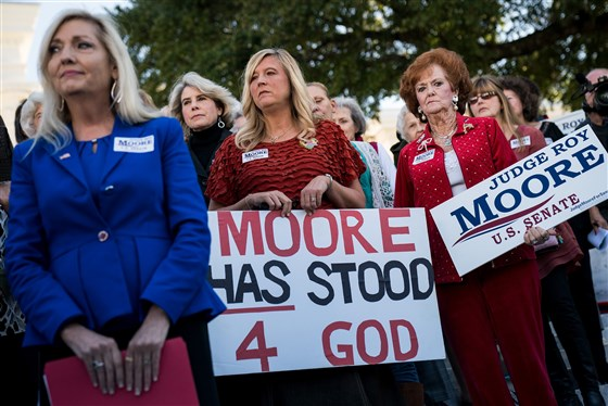 Roy Moore's White Female Voters are Part of a Long History of Internalized Misogyny by  Marcie Bianco - This acute cognitive dissonance has deep historical roots.