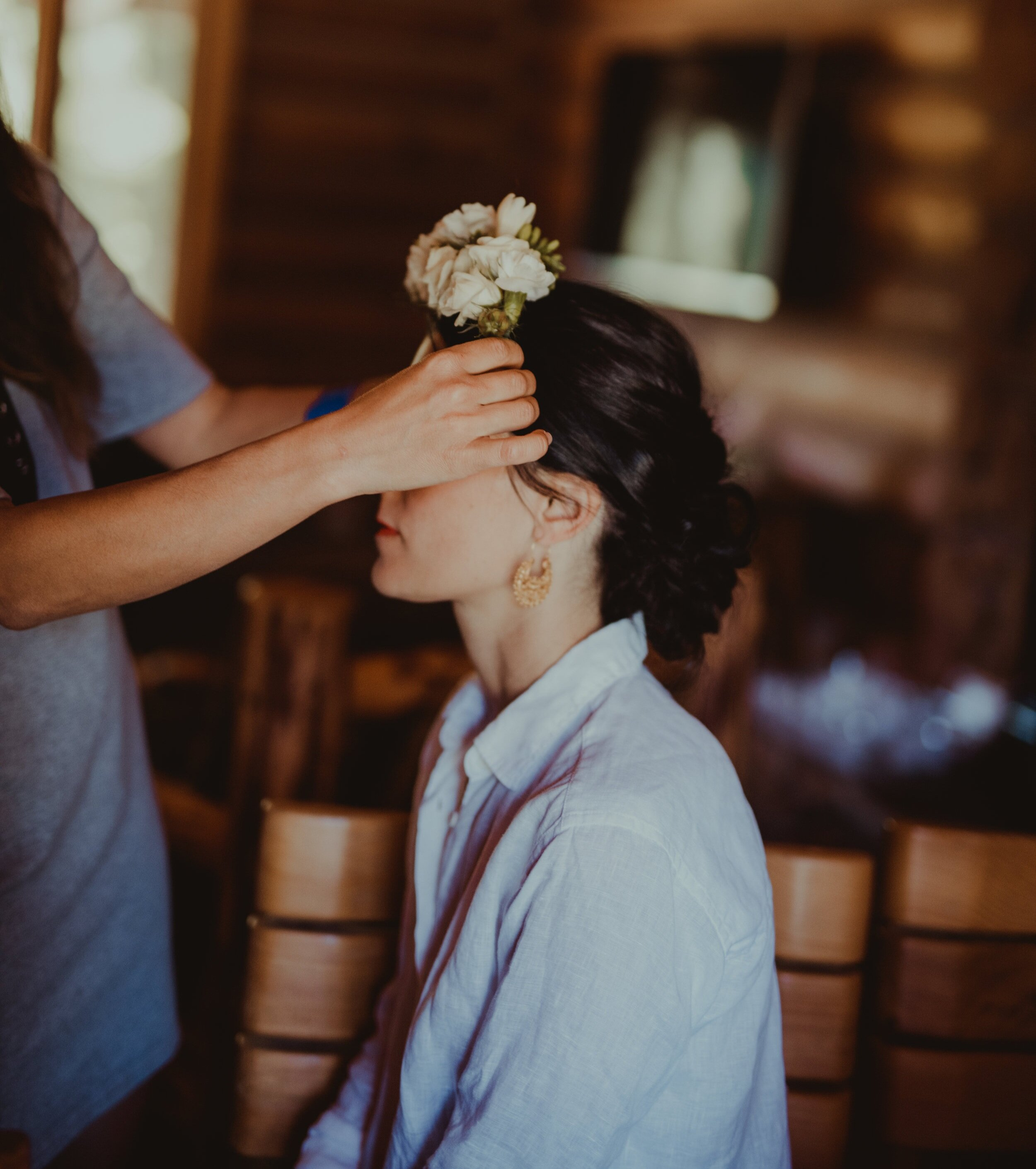 Bridal Hairstyle - We will meet on location at your wedding venue, prepared and fully equipped to transform your hair and makeup into the beautiful wedding look you have dreamed of.Services include travel within 10 miles of Hood River.