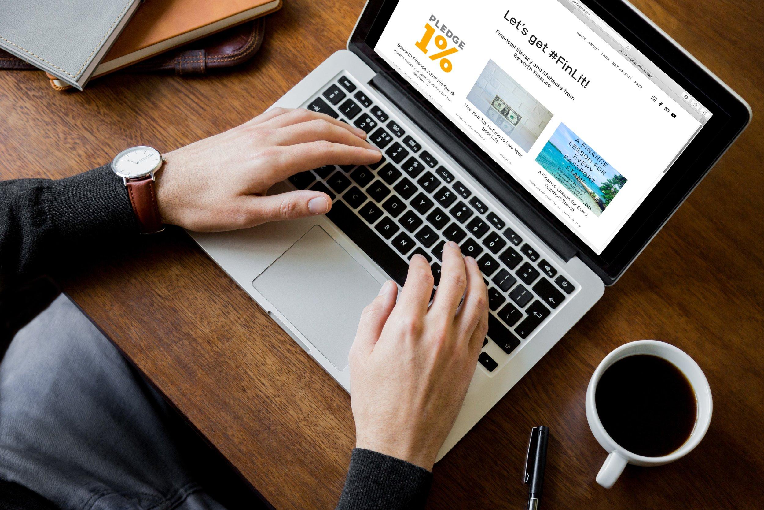 Visit the #FinLit blog -