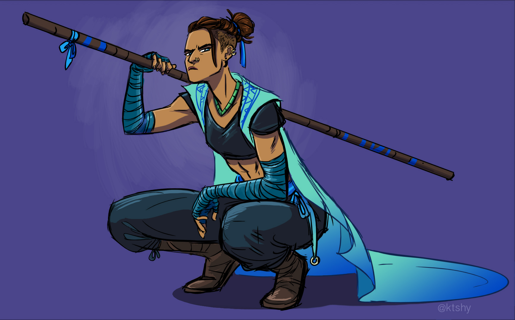 Beau from Critical Role.