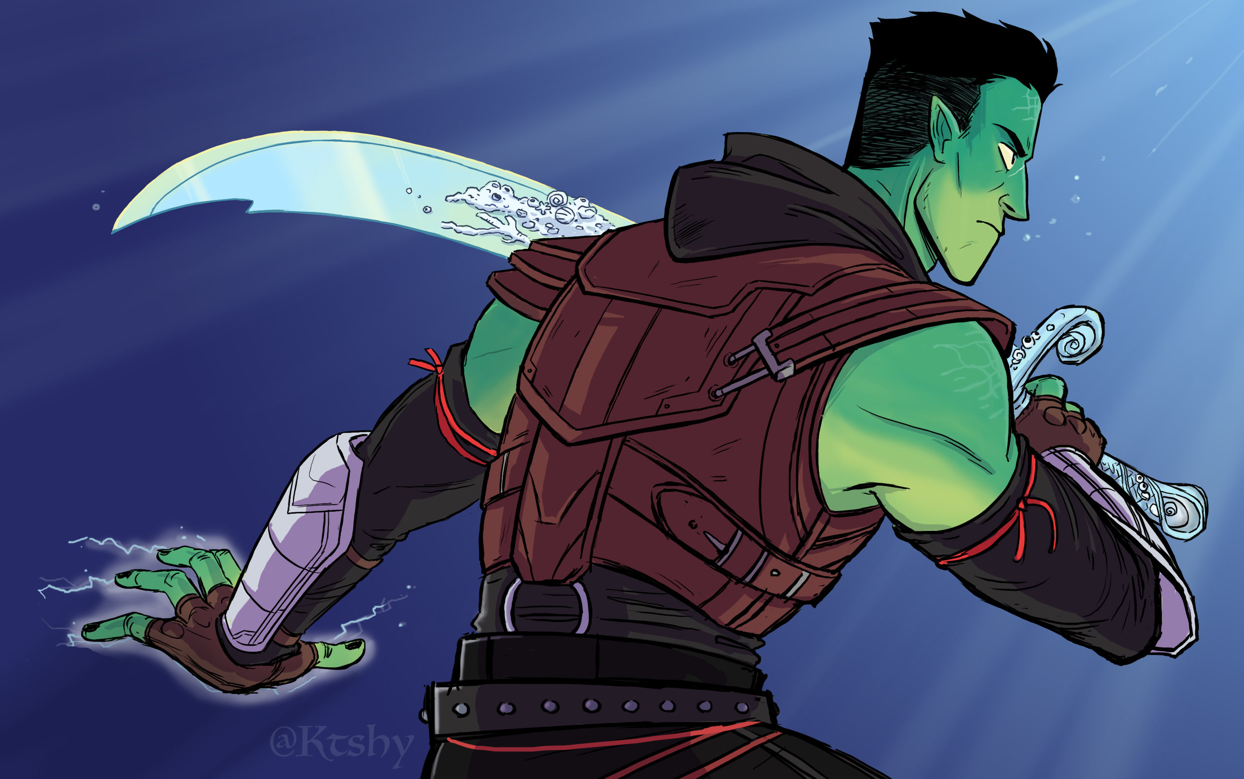 Fjord from Critical Role.