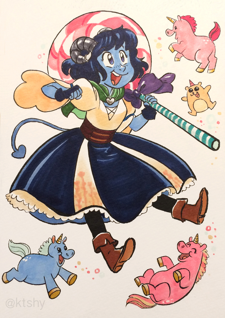 Jester from Critical Role.