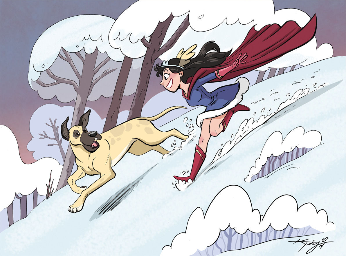 Illustrated for the Nelvana of the Northern Lights reprint