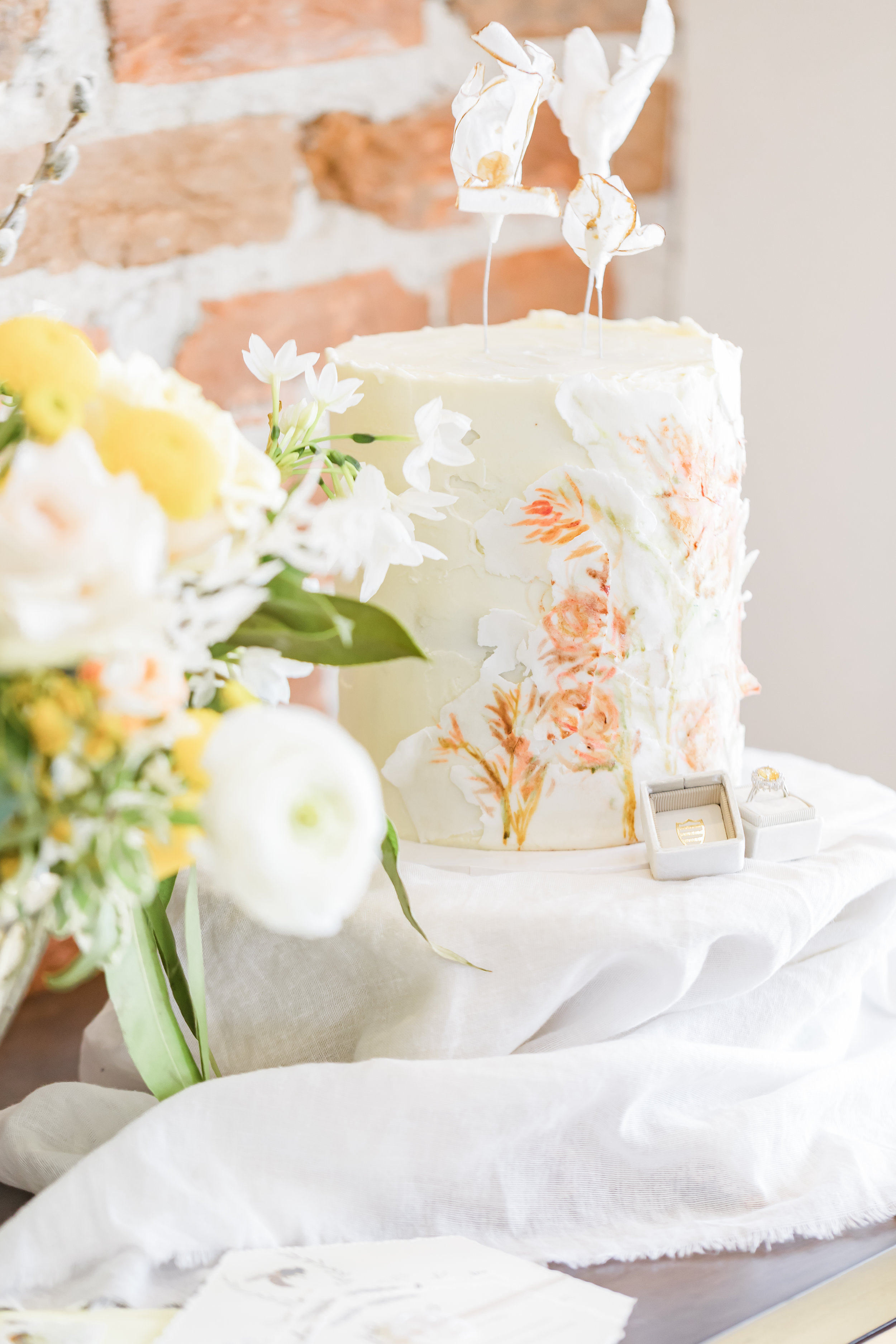 Collaboration between:Melissa Vargas PhotographyRebel Pioneer BakeryHaven FloralsThe Elm EstateJalie EventsNancy Rice Artistry -
