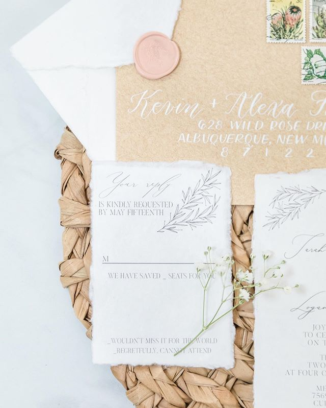 Weird how a simple little RSVP card can help set the tone for your whole wedding, huh? Invitations are the first impression your guests get. Let's make it a good one. 🥰