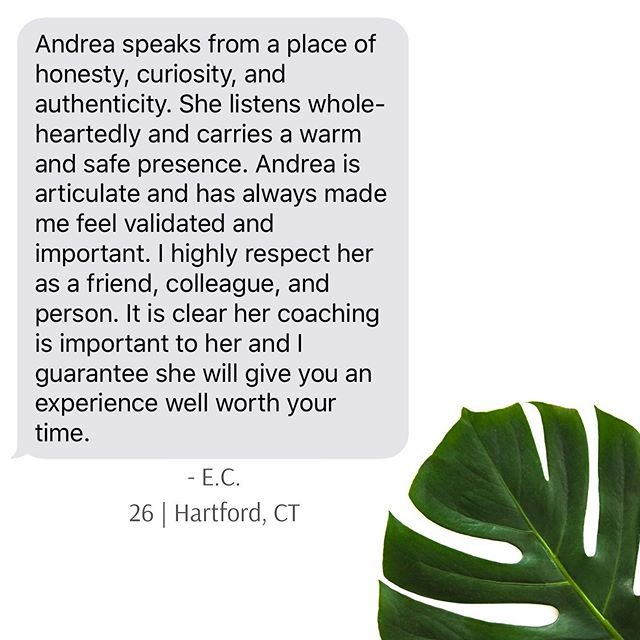 For today's #followyourheartfriday , sharing some feedback I received from a sweet client/colleague. It warms my heart to know I helped facilitate some good in this person's life, which is why I do what I do. This is why I followed my heart. ♥ . . #dogood #clientappreciation #whyidoit