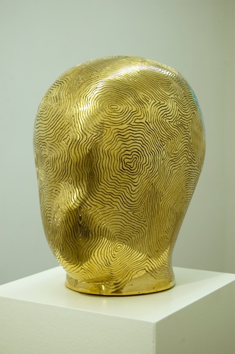 Golden Head 2007 blankpolerad brons